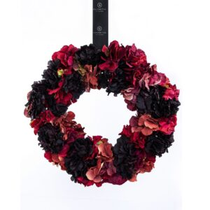 Damson Winter Hydrangea Wreath